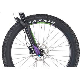 Kona WoZo matt kona purple/lime green/black